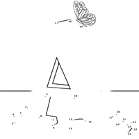 Thumbnail image for Dot to Dot Letter A