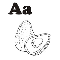 Thumbnail image for Fruit and Vegetable Letter A
