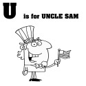 Cartoon Letter U