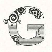Abstract Letter G